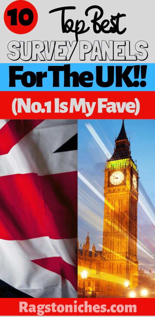 Top 10 best survey sites UK!