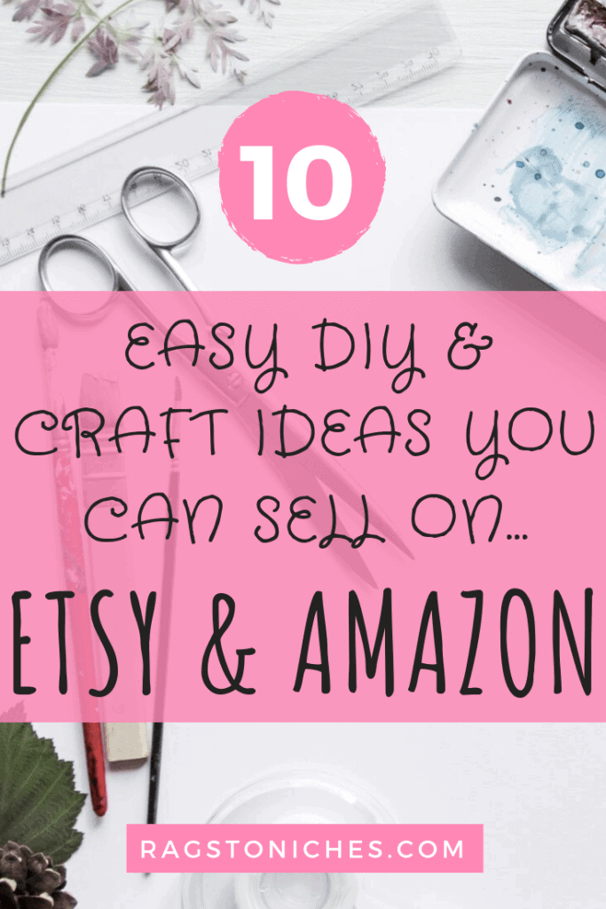10 easy diy and craft ideas you can sell on etsy and amazon