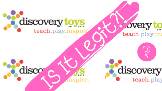 is discovery toys consultant work legit?
