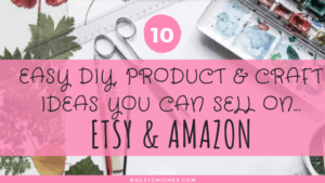 easy diy and craft ideas you can sell on etsy