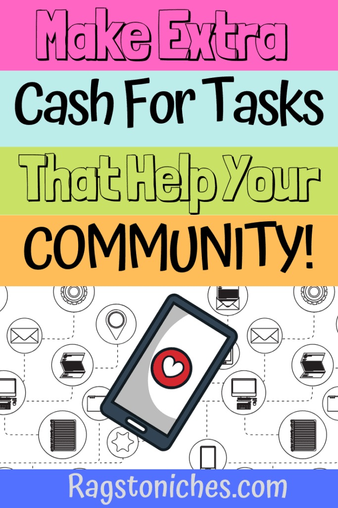Make extra tasks with Premise App, that help your community.