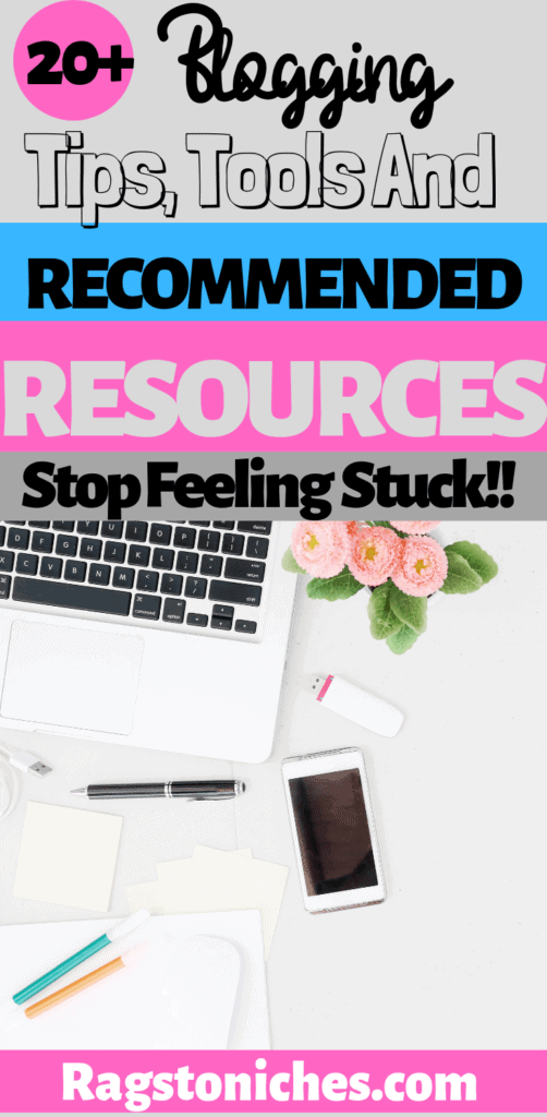 Blogging tips, tools and recommended resources!