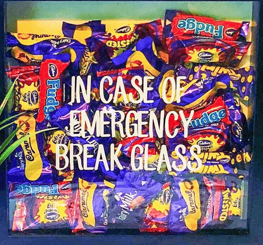 in case of emergency break glass