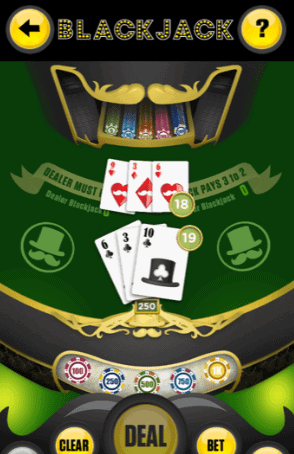 Lucky day app blackjack game