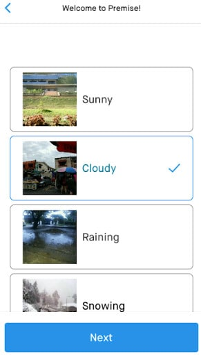Premise App Task How It Works