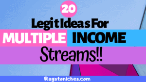 legit ideas for multiple income streams