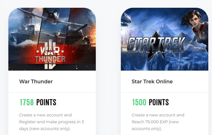 Prizesdrop play games online for points
