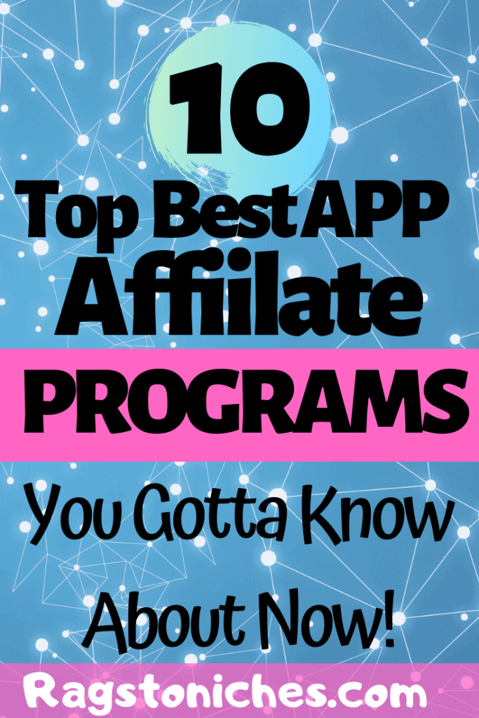 Top 10 best app affiliate programs for you to try. If you're looking to make money online, start a side hustle, or make some extra income, take a look at these apps where you can get paid commissions to refer others.  #affiliatemarketing #smartphoneapps #apps #makemoneyfromhome #sidehustle #extracash