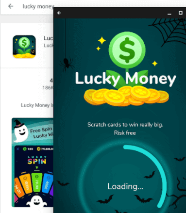 lucky money app sign up free