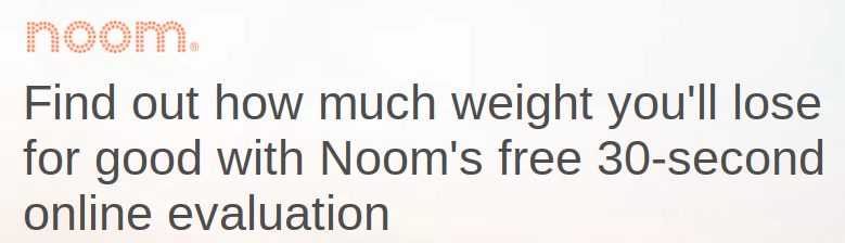 Noom affiliate program