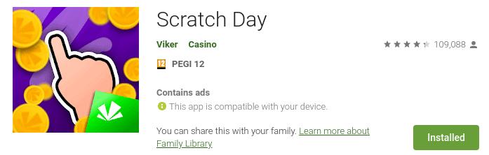 scratch day app