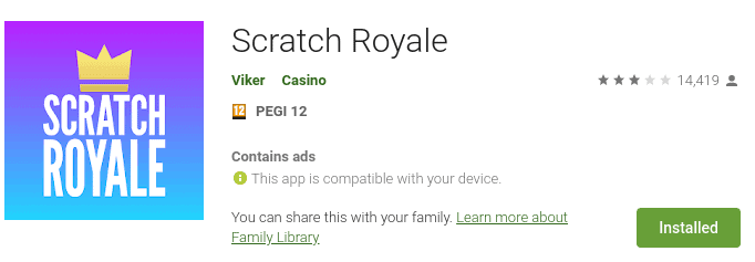 scratch royale app