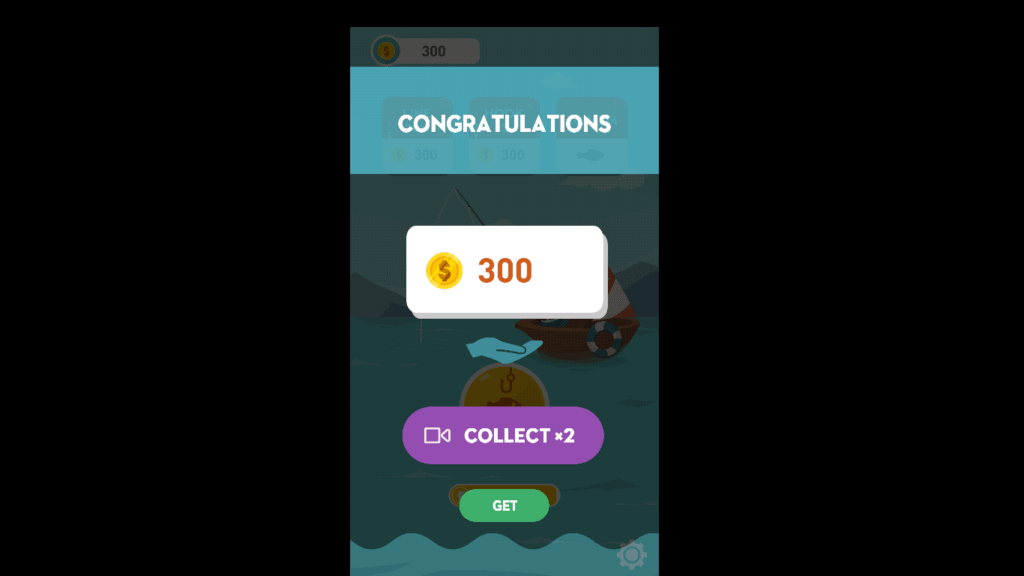 Happy fishing app win coins