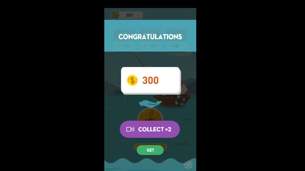 Happy fishing app win coins