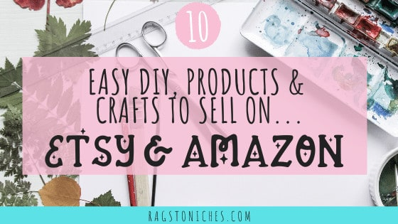 10 Easy DIY & Craft Ideas To Sell On Etsy Or Amazon Homemade?
