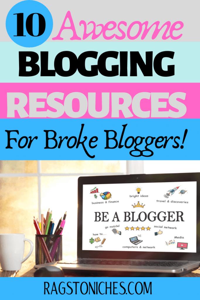 blogging resources for broke bloggers
