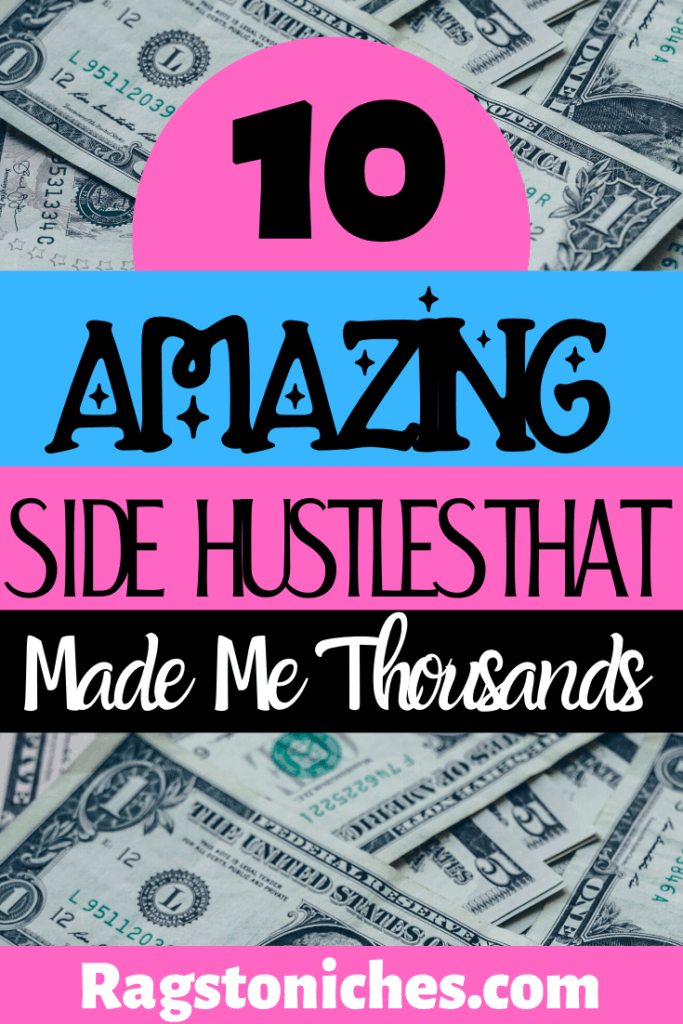 10 legit side hustles that have me thousands
