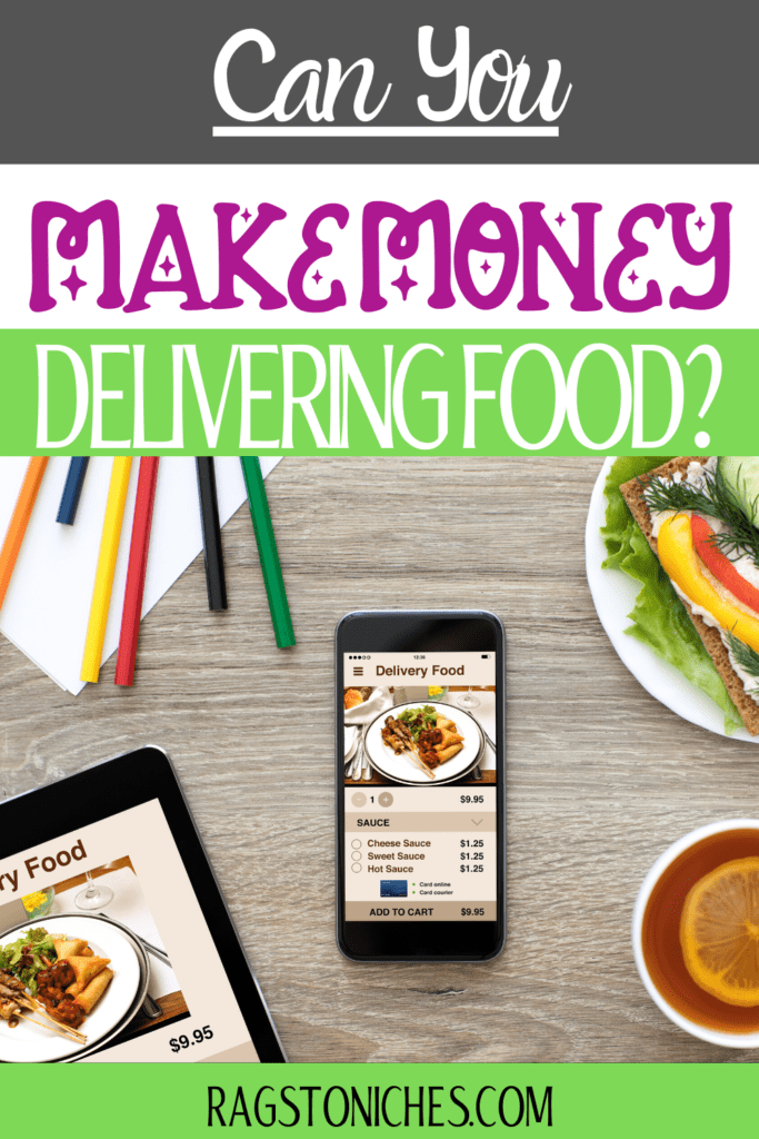 can you make money delivering food