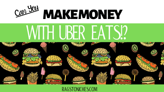 Can you make money with Uber Eats?  Make money from home delivering food.