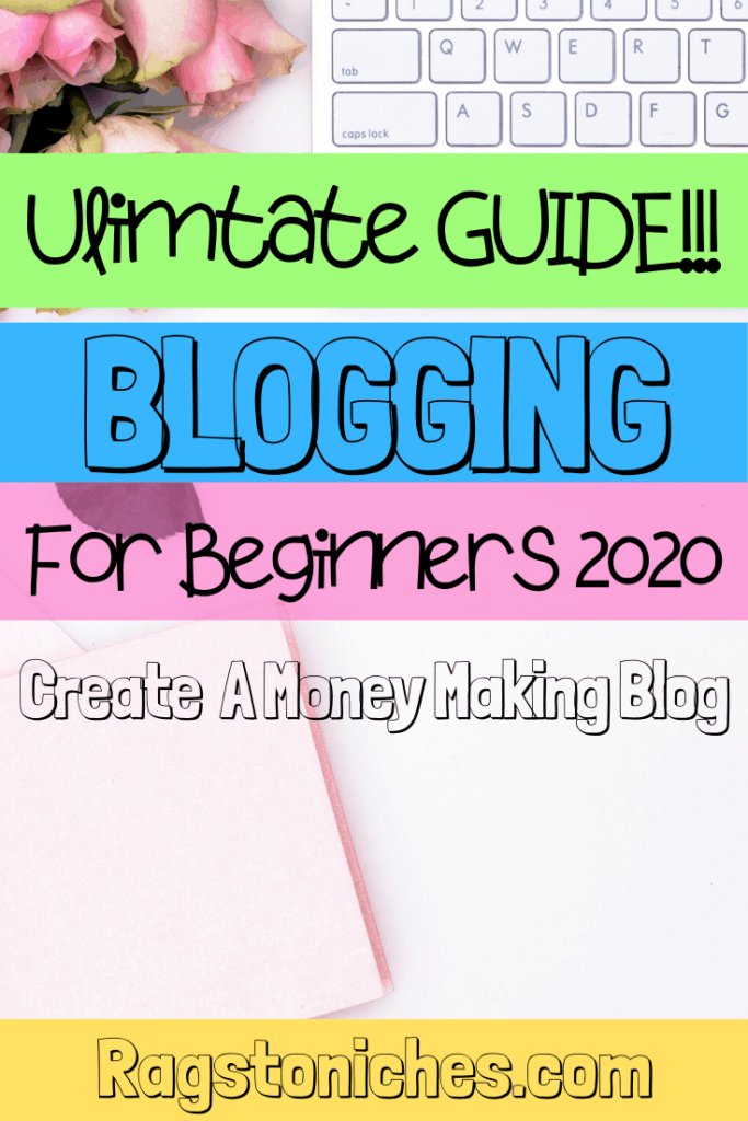 blogging for beginners guide 2020