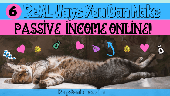 real ways you can make passive income online