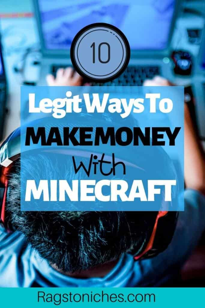 legit ways to make money with Minecraft