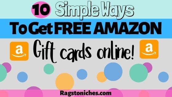 10 legit ways to get free amazon gift cards online