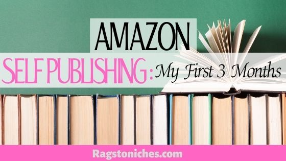 Amazon self publishing my first Amazon KDP results