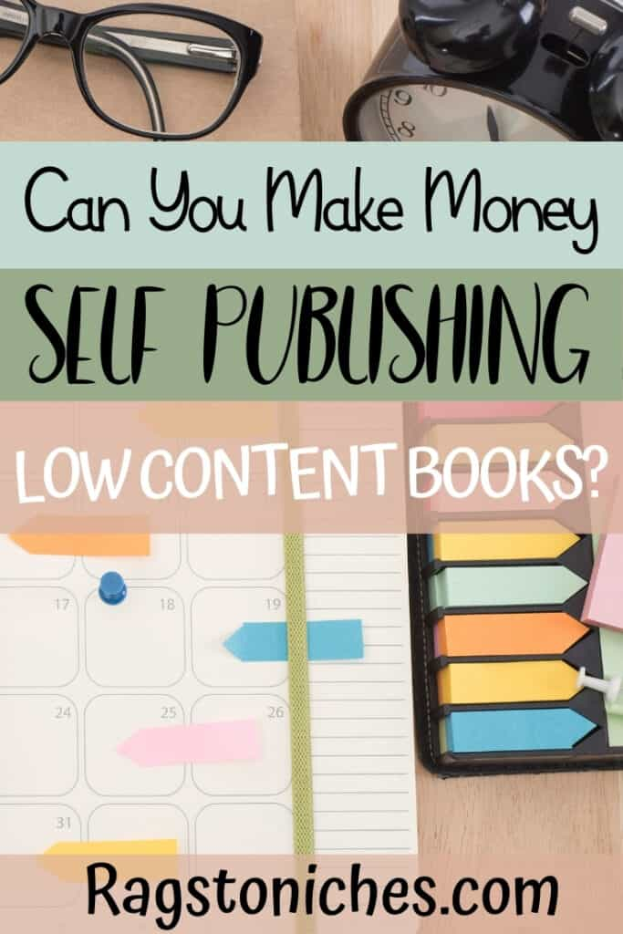 Can you make money self publishing low content books - or is amazon KDP oversaturated?