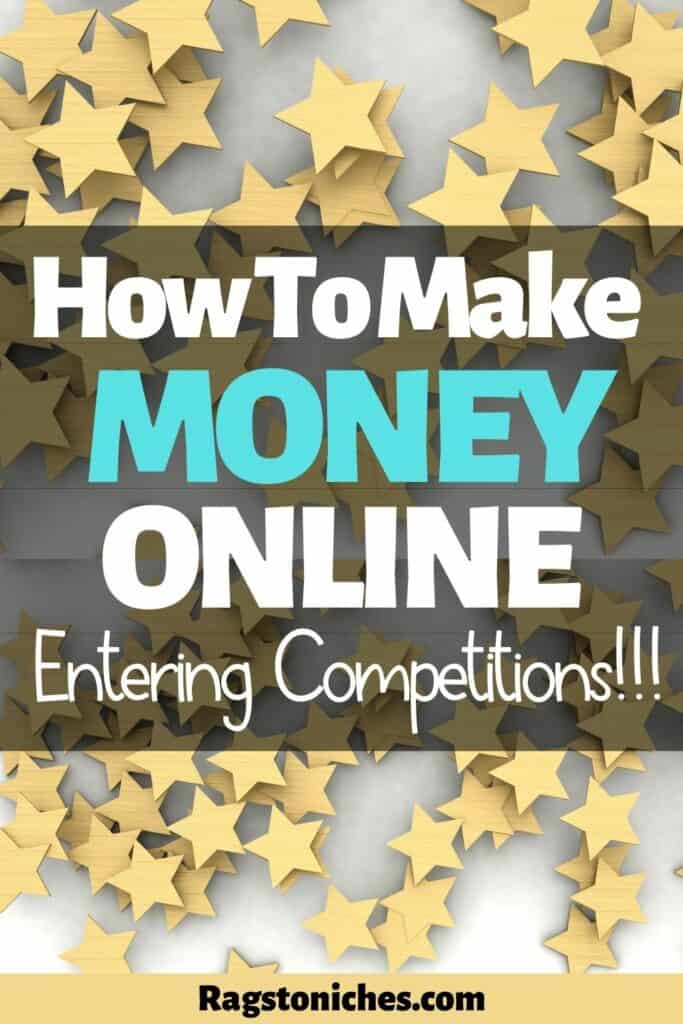 Can you make money online entering competitions and sweepstakes?