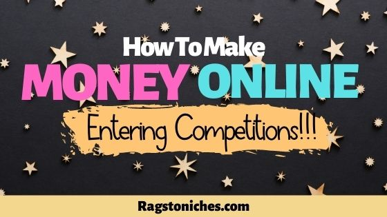 Can you make money online entering competitions and sweepstakes